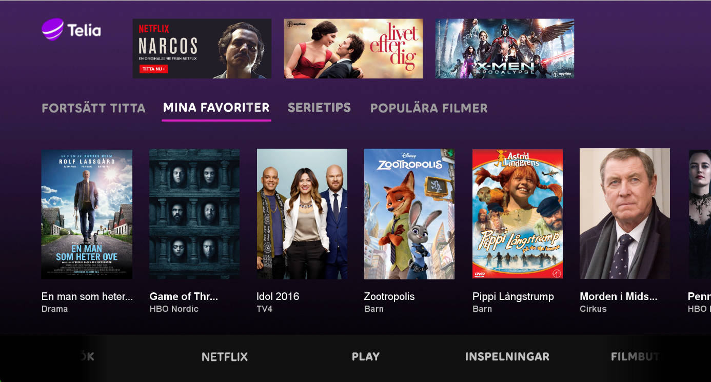 Our Site Nordic Will Compete with Netflix